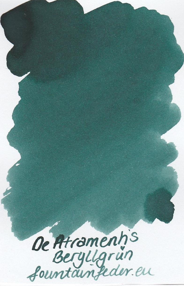 DeAtramentis Beryllgrün Ink Sample 2ml