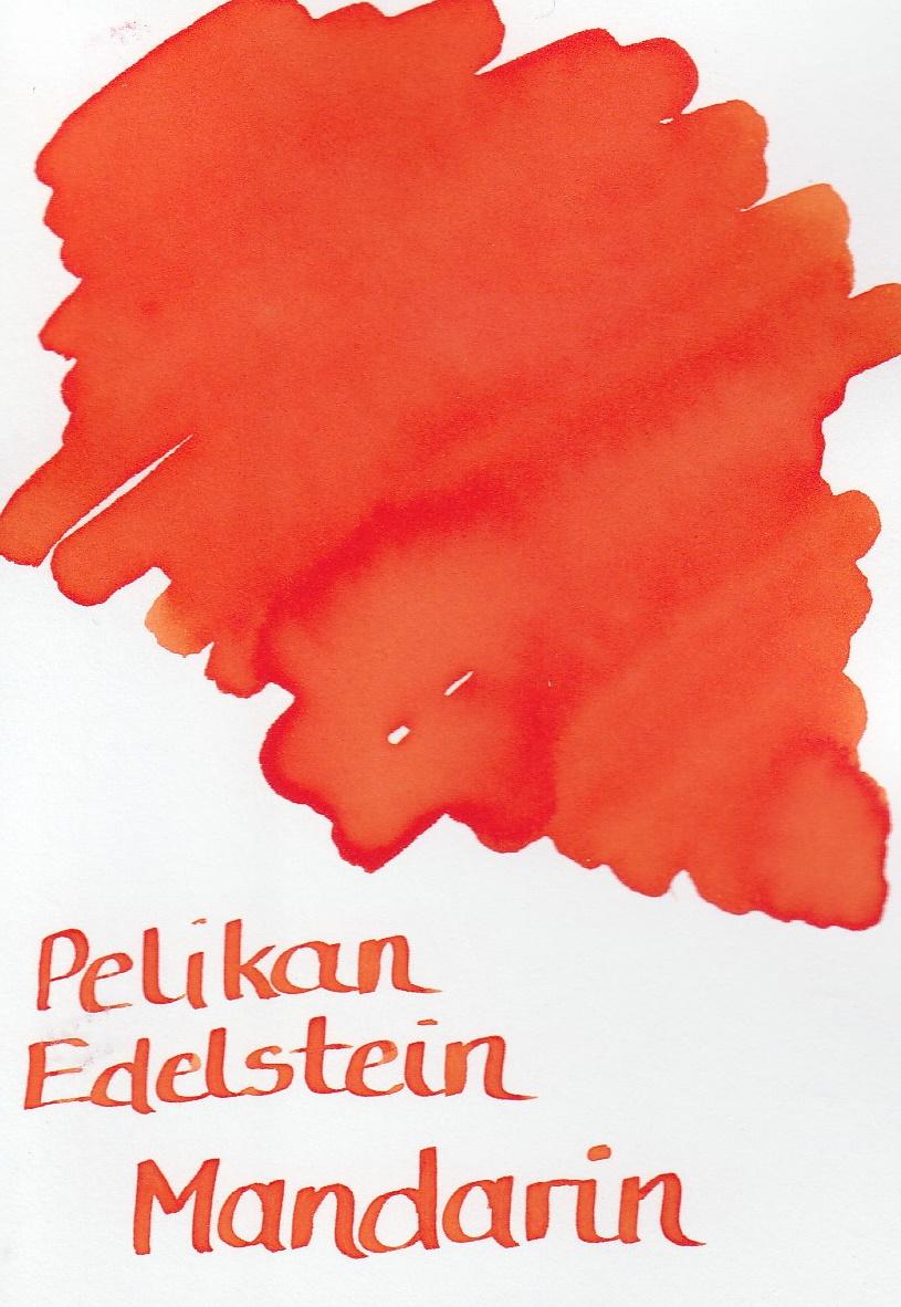 Pelikan Edelstein Mandarin Ink Sample 2ml