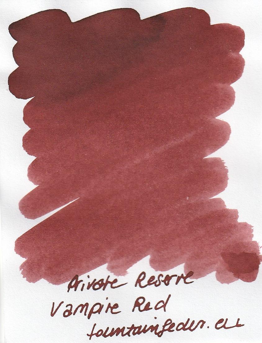 Private Reserve - Vampire Red Ink Sample 2ml