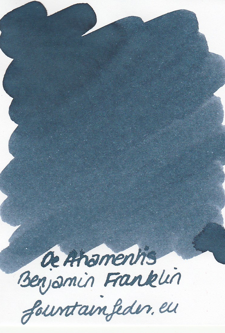 DeAtramentis Benjamin Franklin Ink Sample 2ml