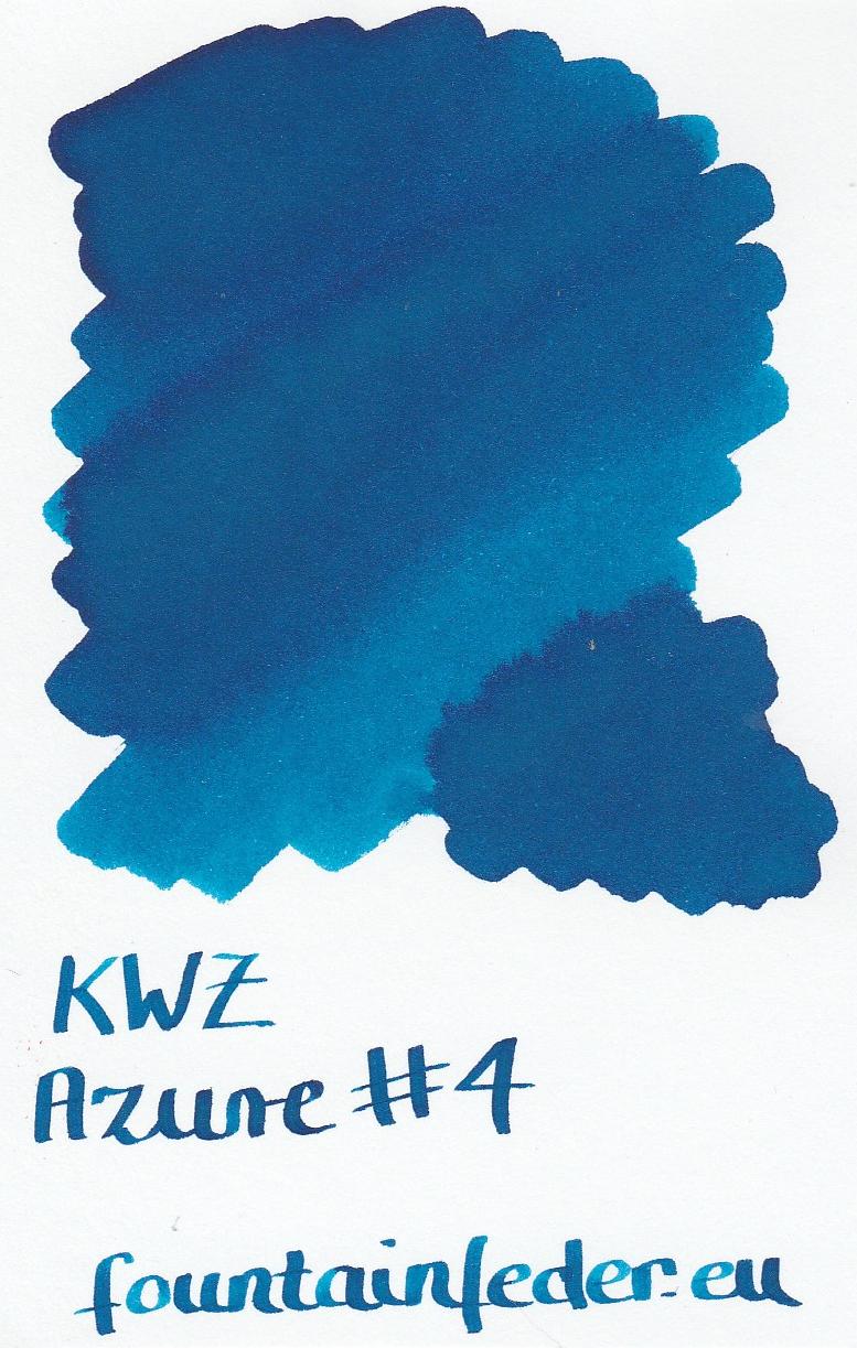 KWZ Azure #4 Ink Sample 2ml