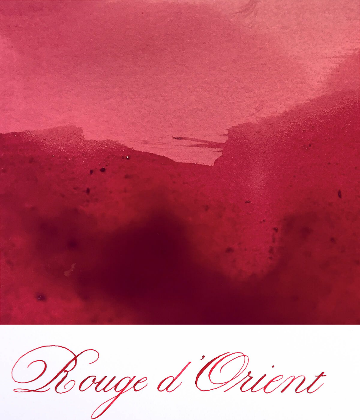 Jacques Herbin  - Rouge d'Orient Ink Sample 2ml