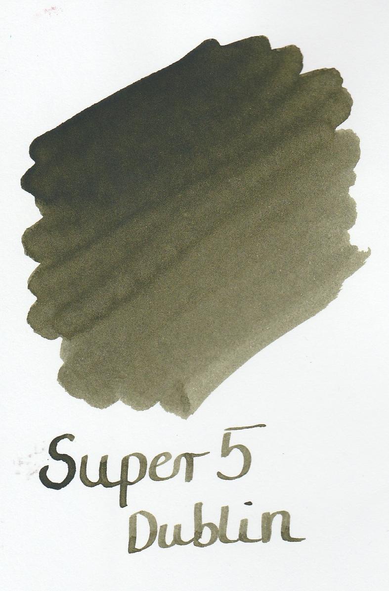 Super5 Dublin Ink Sample 2ml