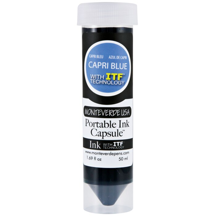 Monteverde Capri Blue Portable Ink Capsule 50ml