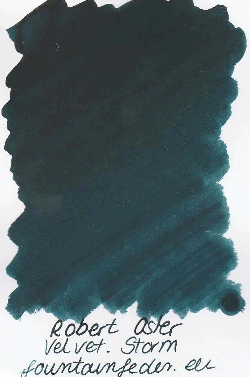 Robert Oster - Velvet Storm Ink Sample 2ml