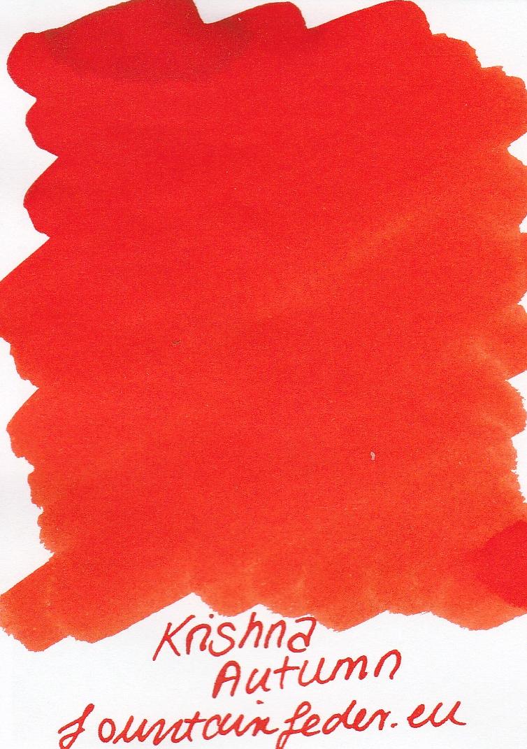 Krishna SR Autumn Ink Sample 2ml