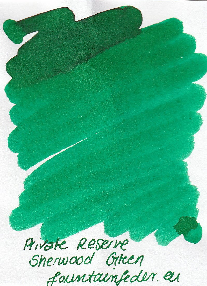 Private Reserve - Sherwood Green Ink Sample 2ml