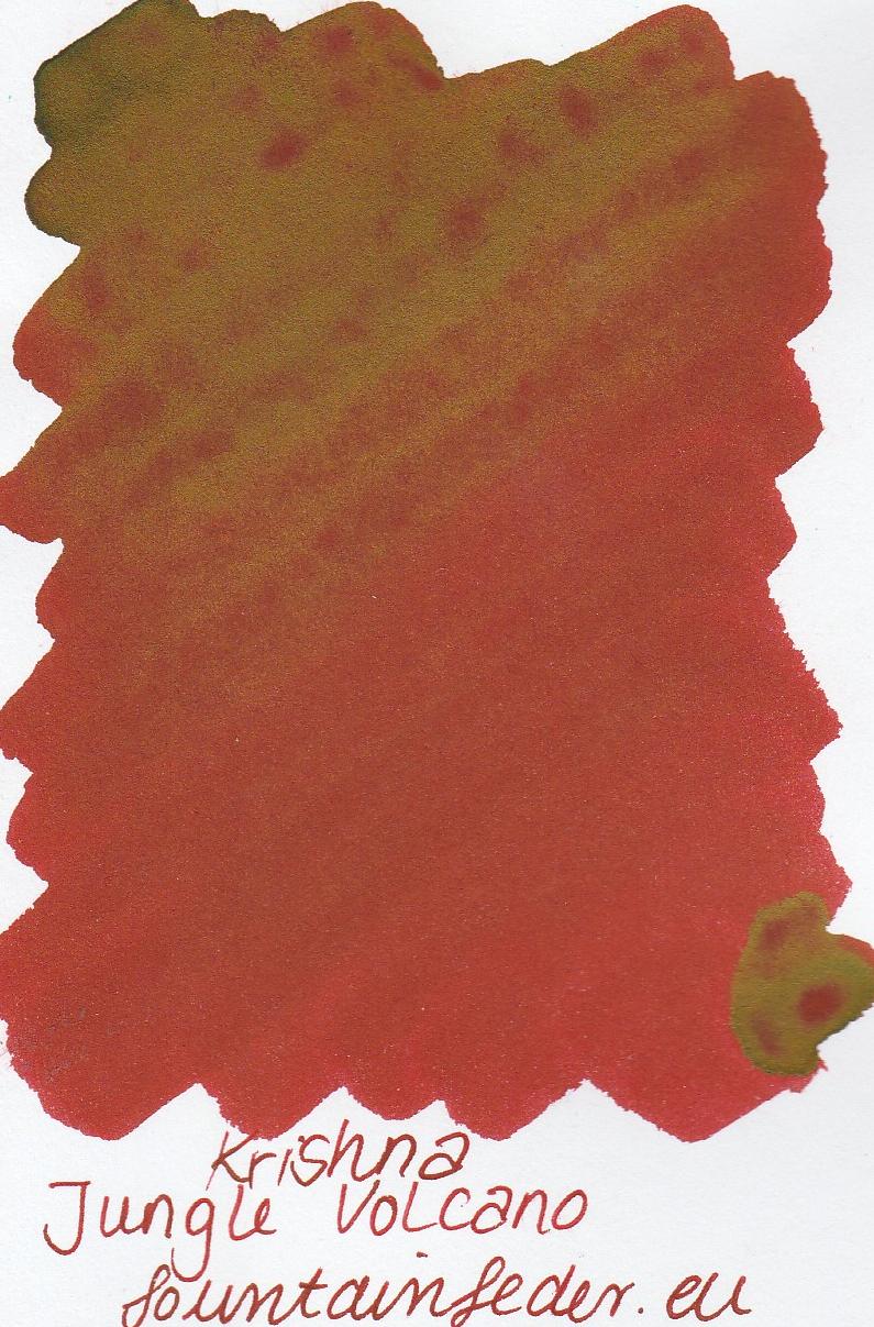 Krishna RC Jungle Volcano Ink Sample 2ml