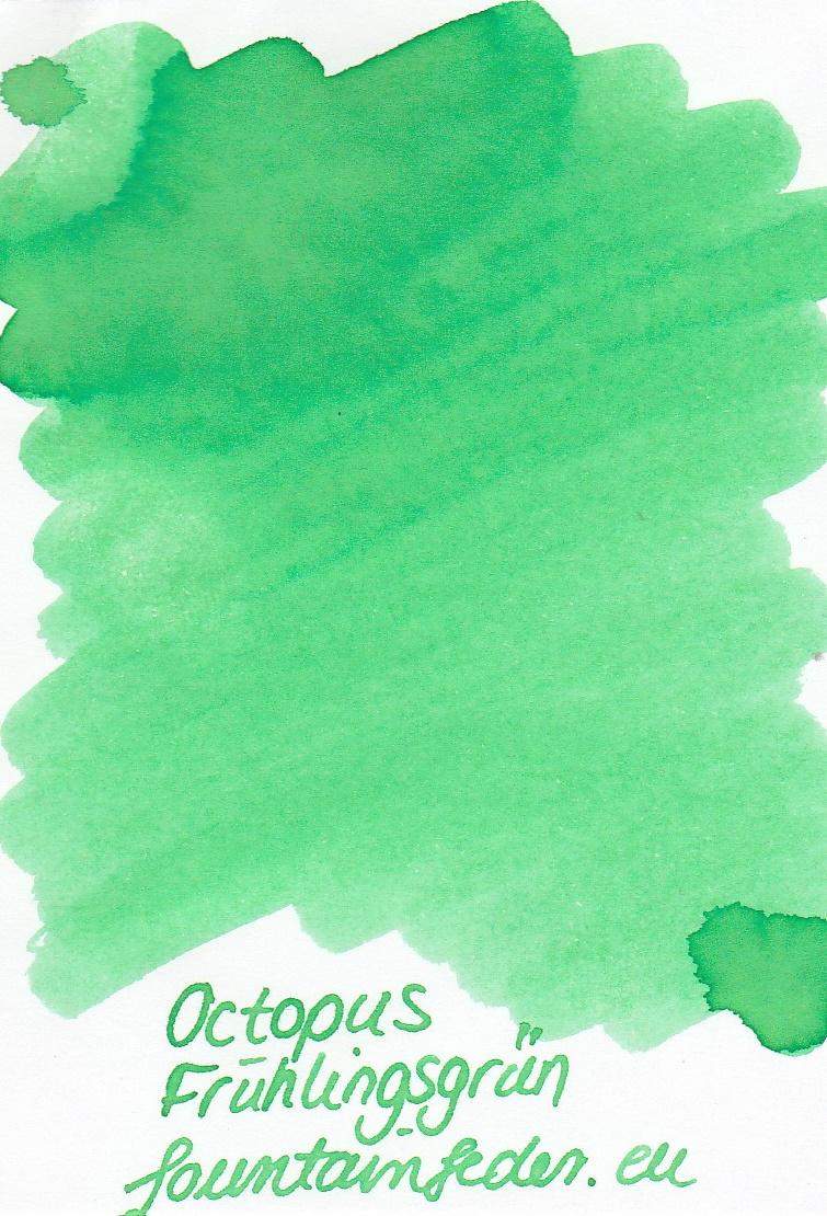 Octopus Fluids Frühlingsgrün Ink Sample 2ml