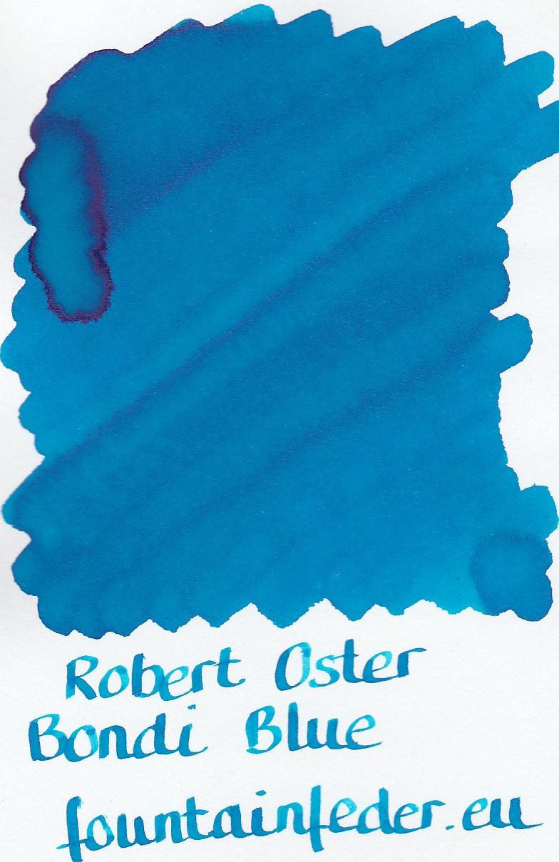 Robert Oster - Bondi Blue Ink Sample 2ml