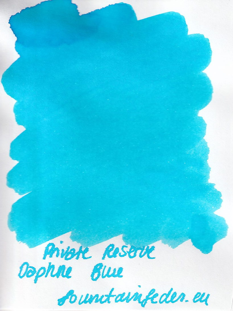 Private Reserve - Daphe Blue  Ink Sample 2ml