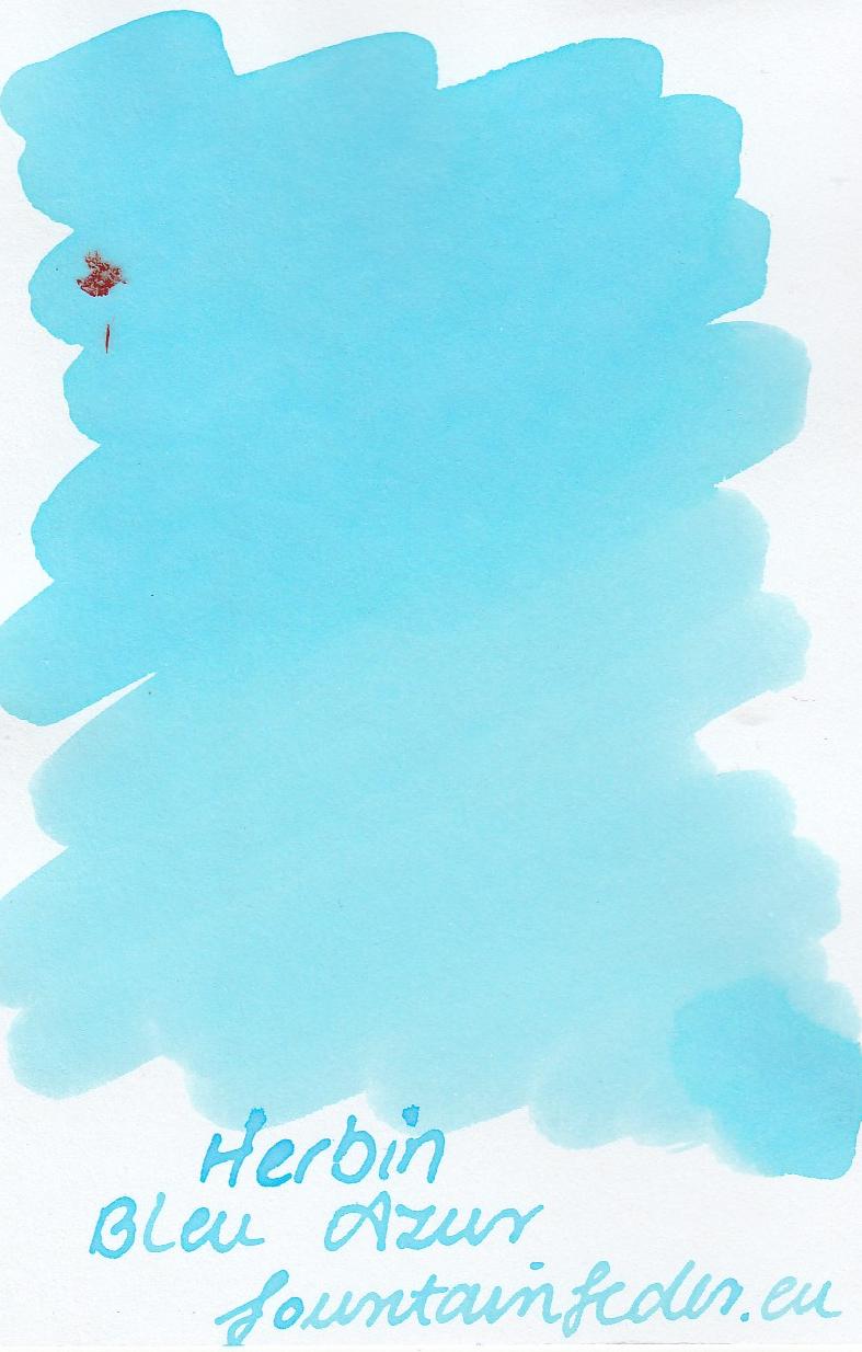 Herbin Bleu Azur Ink Sample 2ml