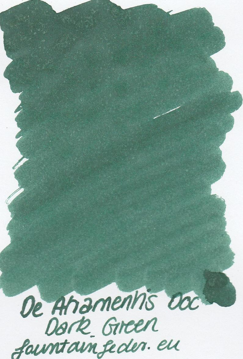 DeAtramentis Document Dark Green - Ink Sample 2ml