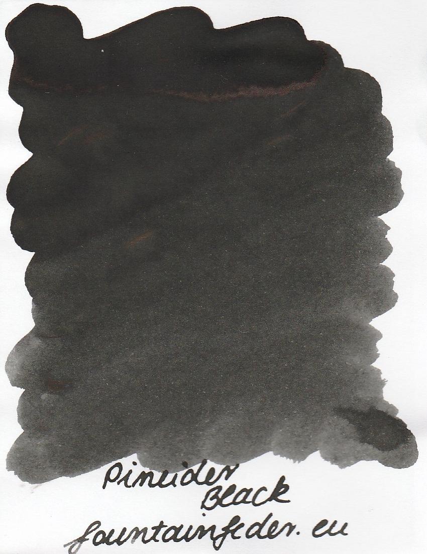 Pineider Black Ink Sample 2ml