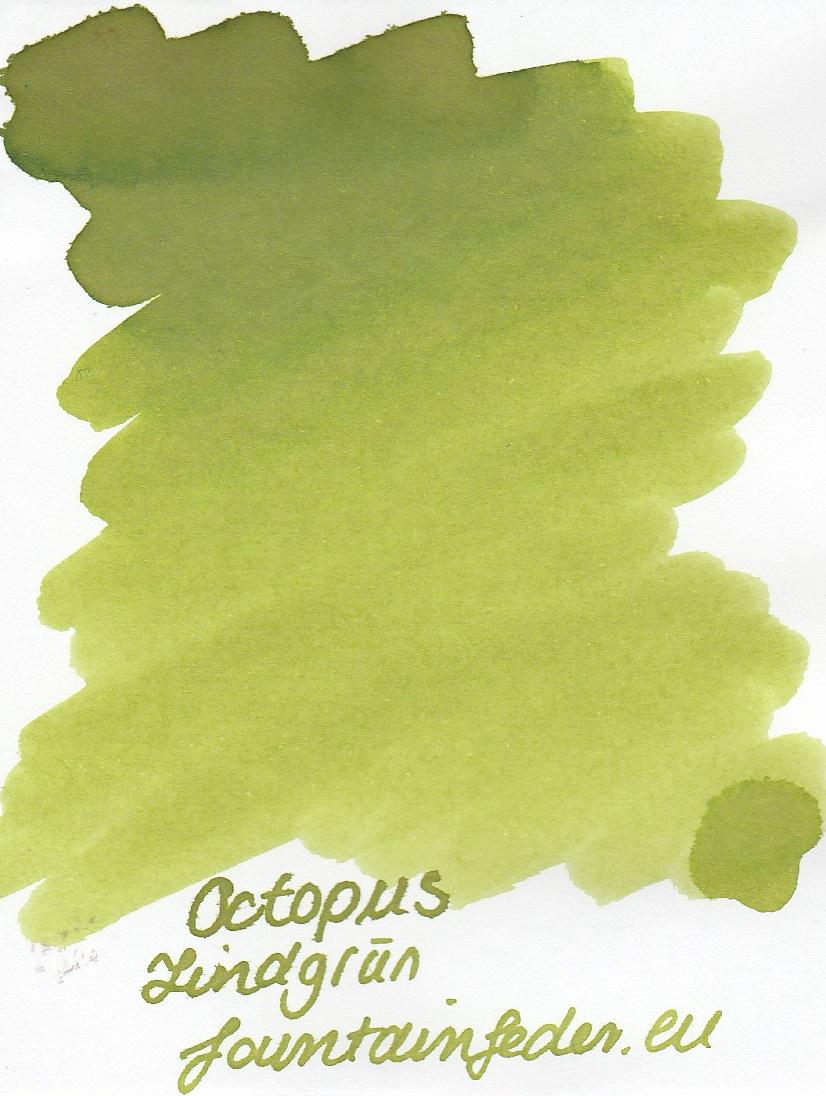 Octopus Fluids Lindgrün Ink Sample 2ml