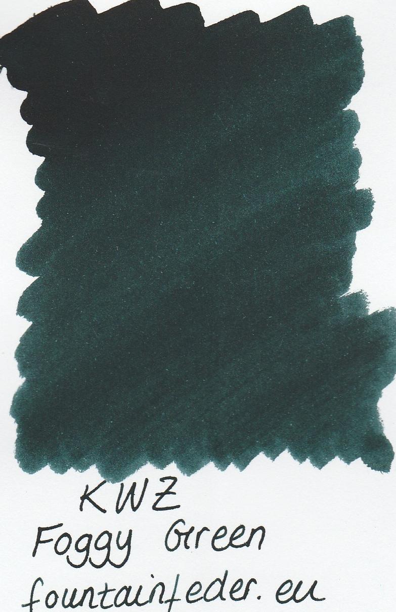 KWZ Foggy Green Ink Sample 2ml