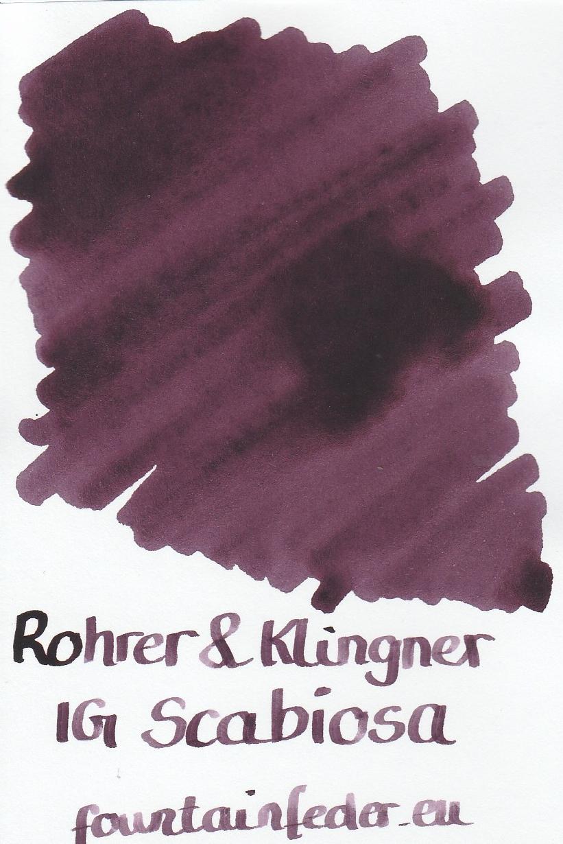 Rohrer & Klingner IG Scabiosa Ink Sample 2ml
