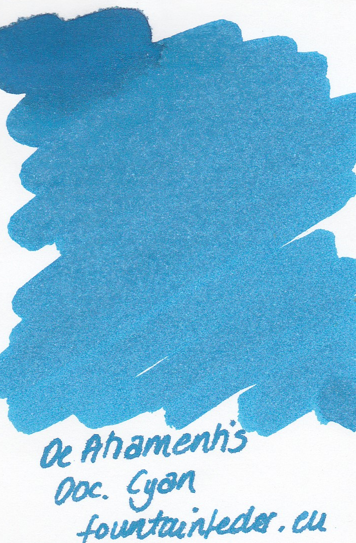 DeAtramentis Document Cyan- Ink Sample 2ml