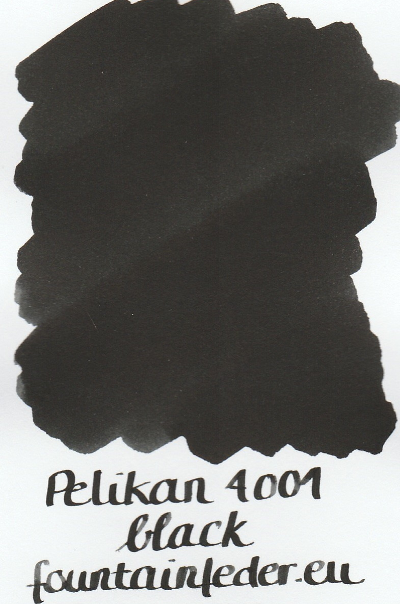 Pelikan 4001 Black Ink Sample 2ml