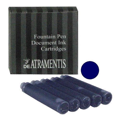 DeAtramentis Document Dark Blue Cartridges