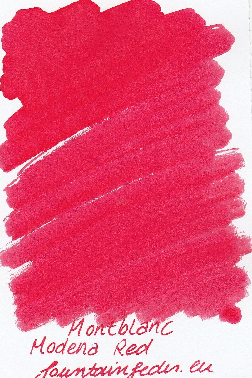 Montblanc Modena Red Ink Sample 2ml