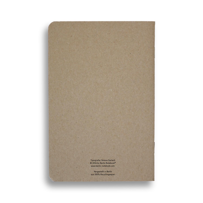 Berlin Notebook  (2 per pack)