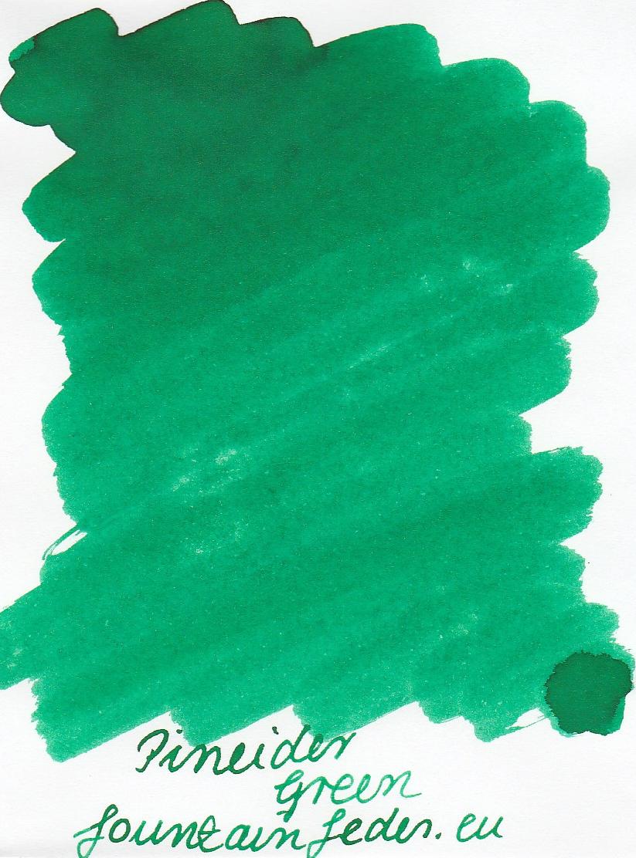 Pineider Green Ink Sample 2ml