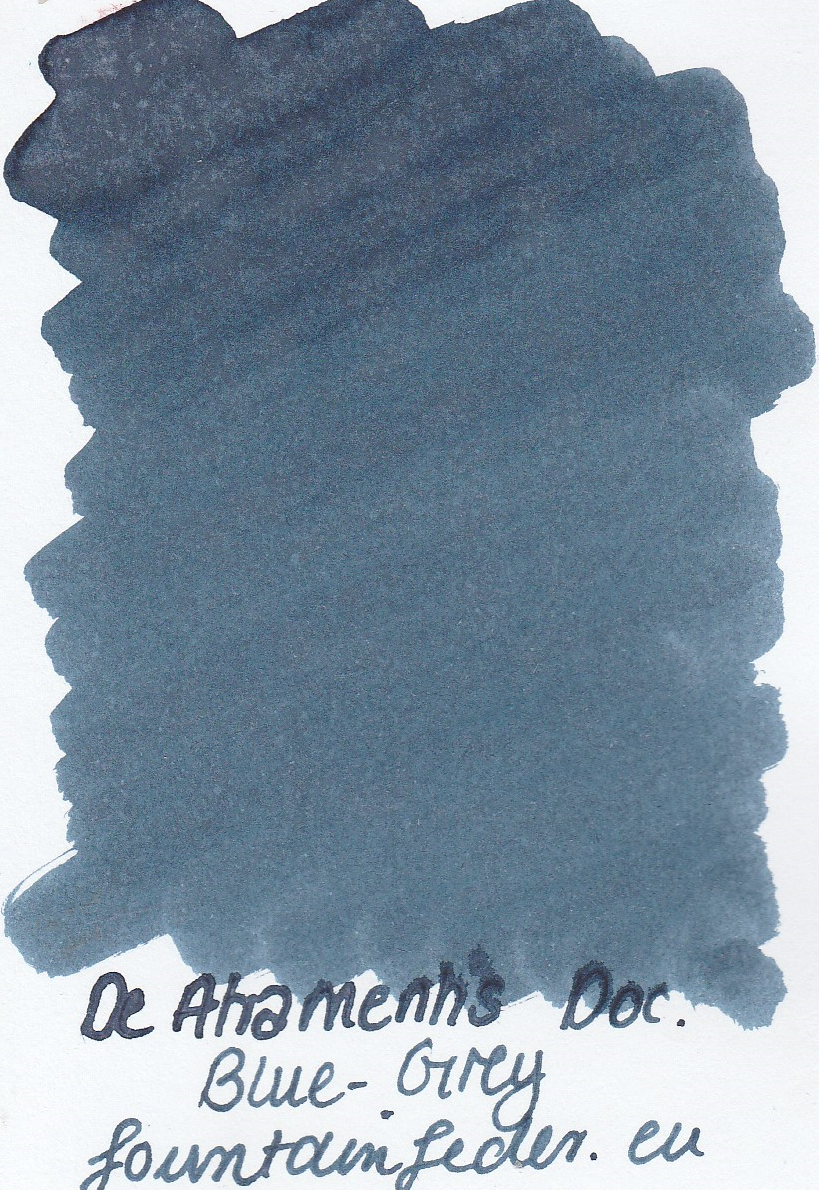 DeAtramentis Document Blue Grey - Ink Sample 2ml