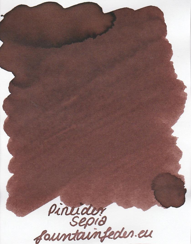 Pineider Sepia Ink Sample 2ml