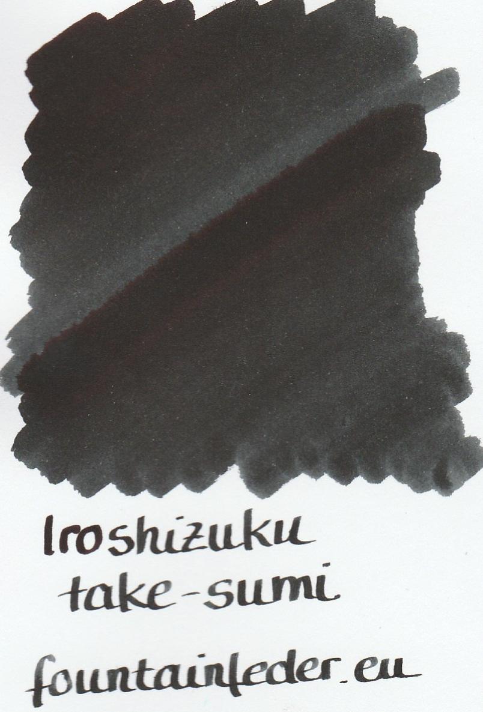 Pilot Iroshizuku Take-Sumi 2ml Ink Sample