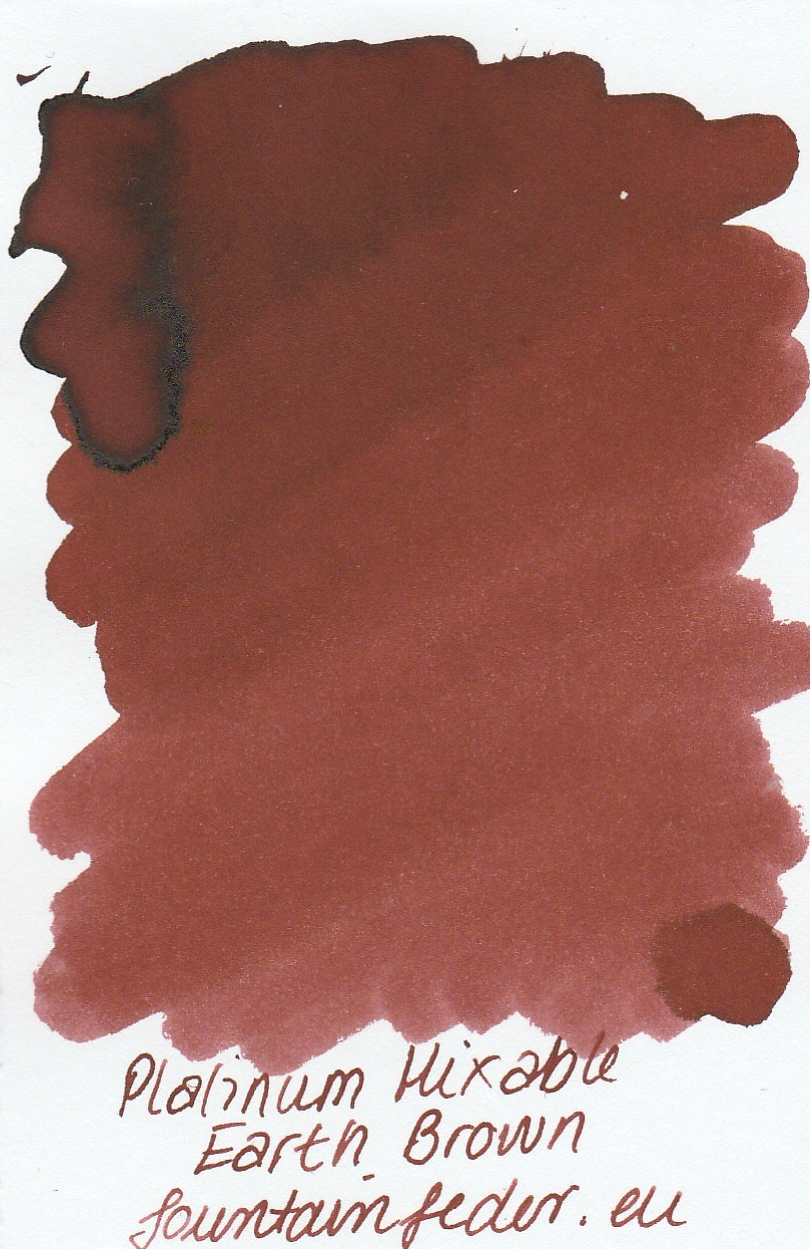Platinum Mixable - Earth Brown Ink Sample 2ml