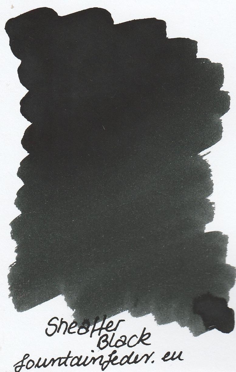 Sheaffer Black Ink Sample 2ml