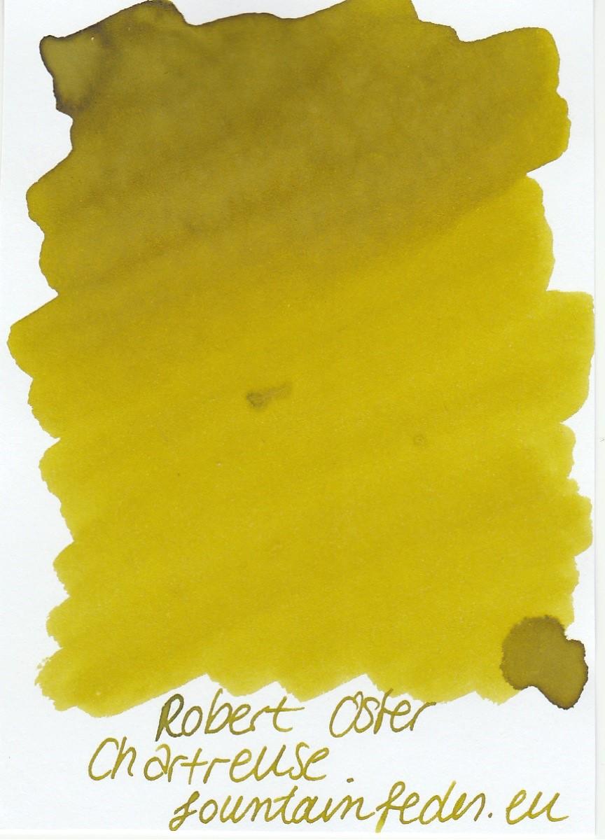 Robert Oster - Chartreuse Ink Sample 2ml