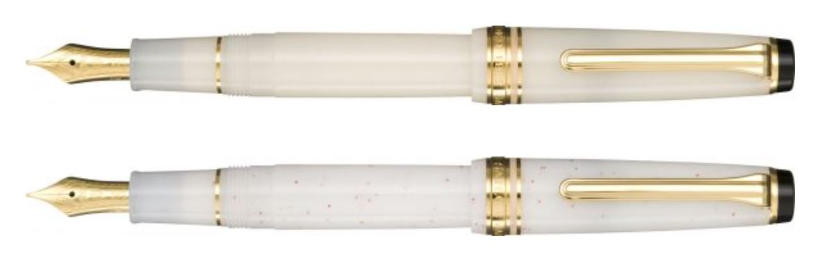 Sailor Professional Gear Slim Shikiori - Ivory Lame