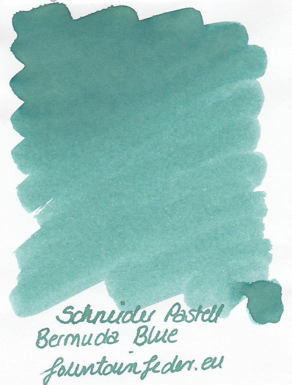 Schneider Pastell Bermuda Blue Ink Sample 2ml