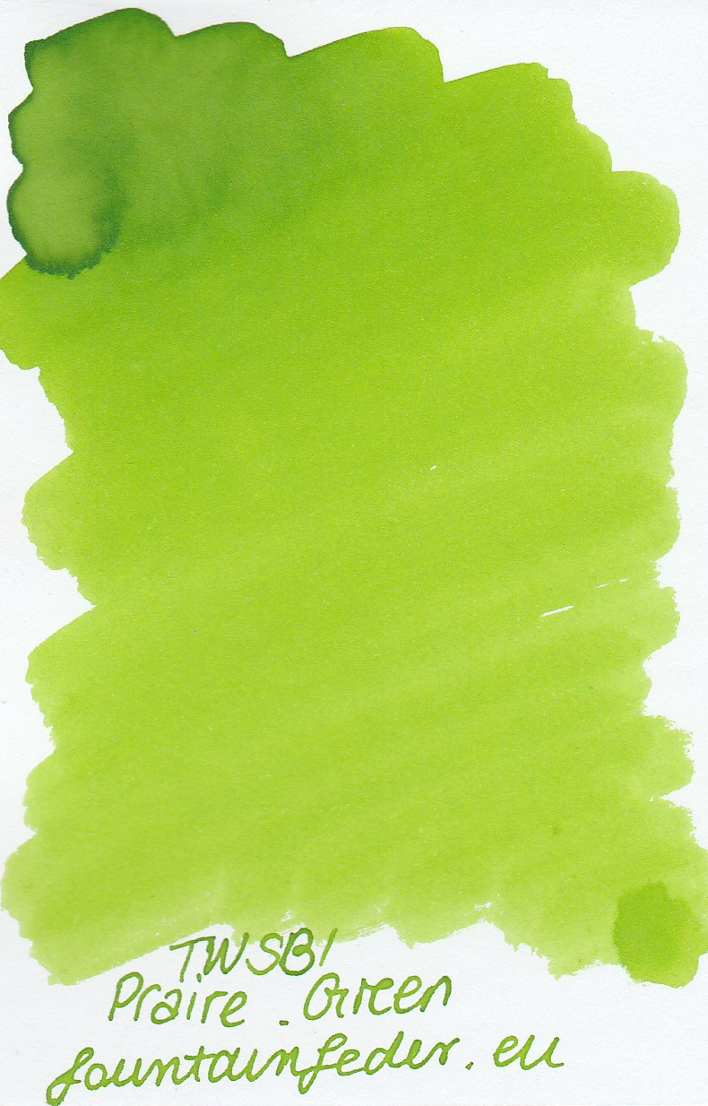 TWSBI Praire Green Ink Sample 2ml