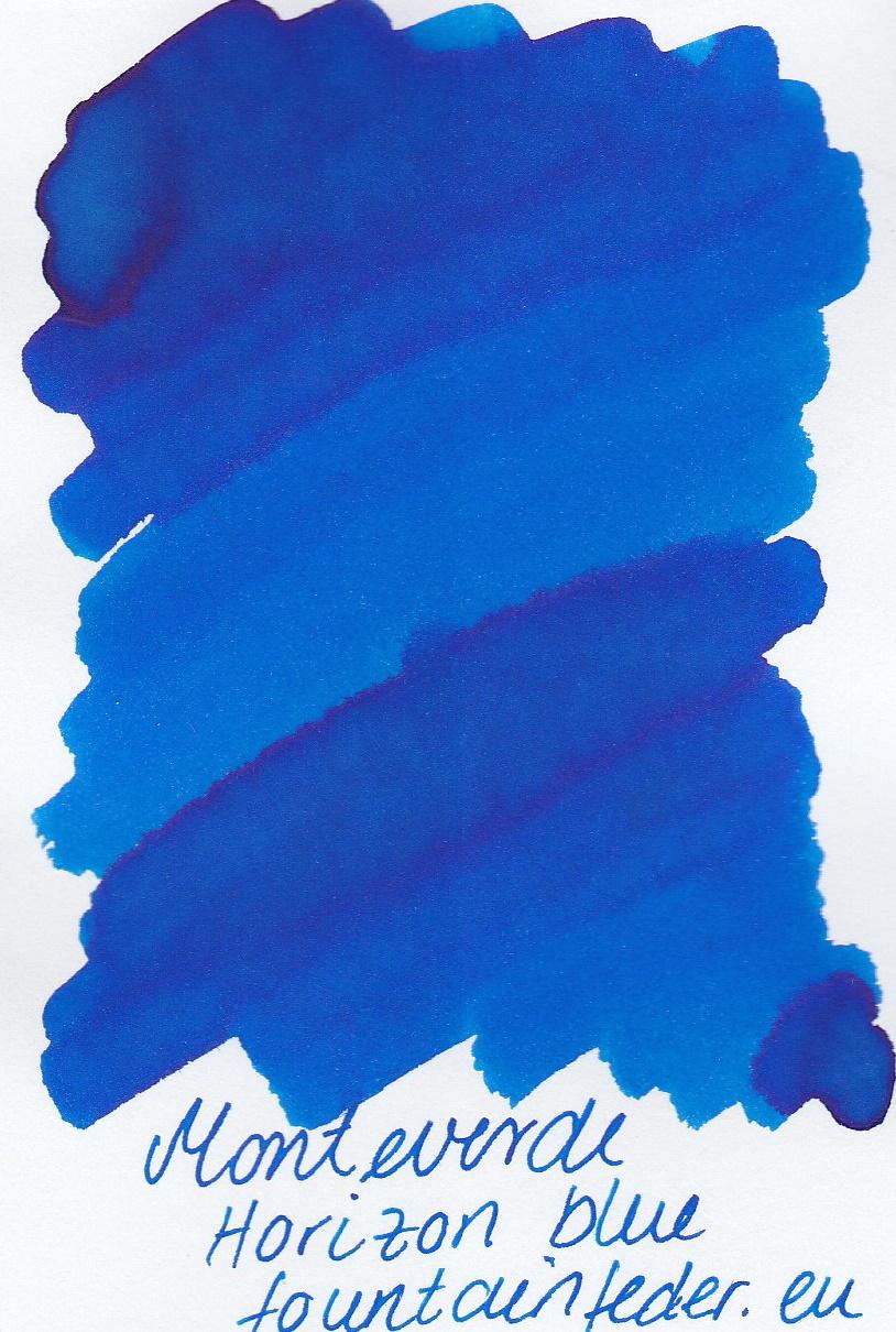 Monteverde  Horizon Blue Ink Sample 2ml