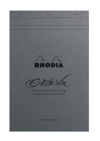 Rhodia PAScribe Grey Maya Pad liniert A4+