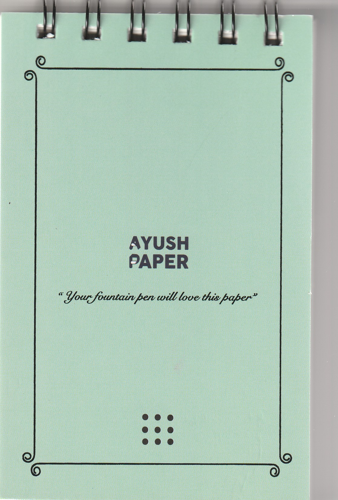 Ayush Paper Notepad A6 Dot