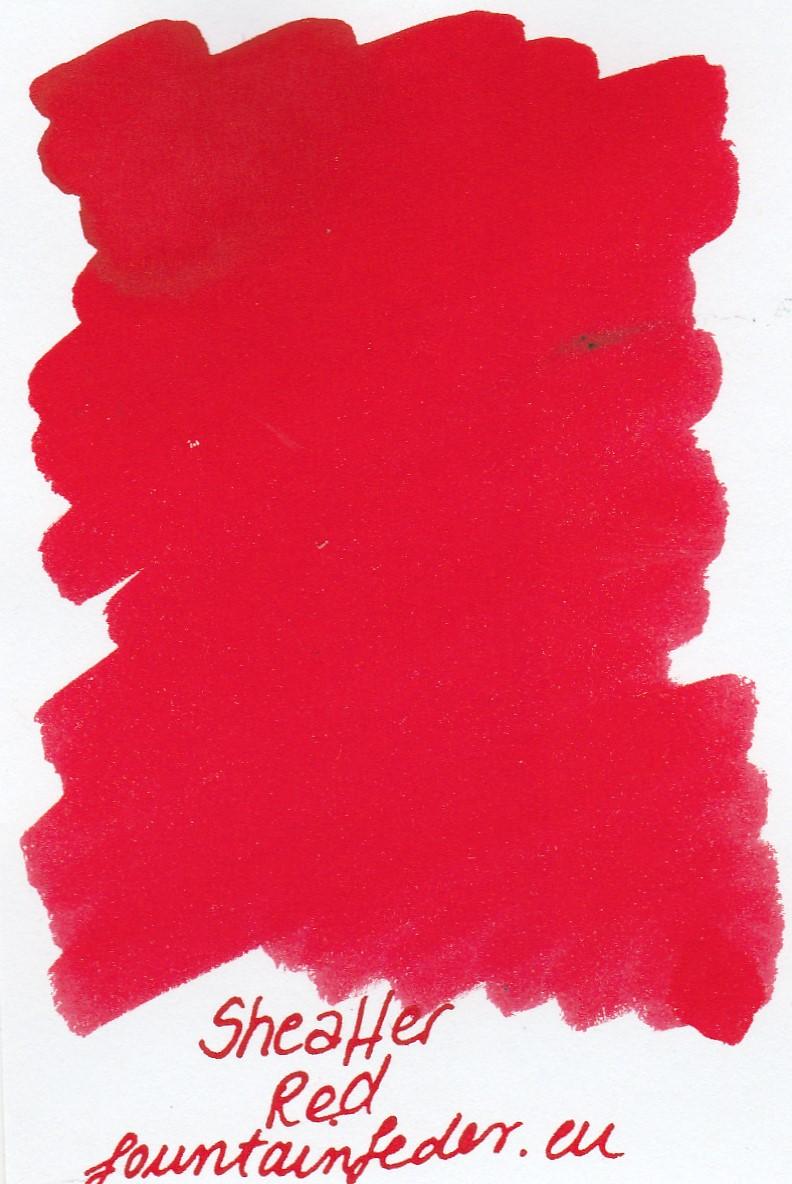 Sheaffer Red Ink Sample 2ml