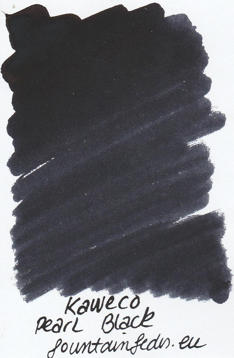 Kaweco Pearl black Ink Sample 2ml