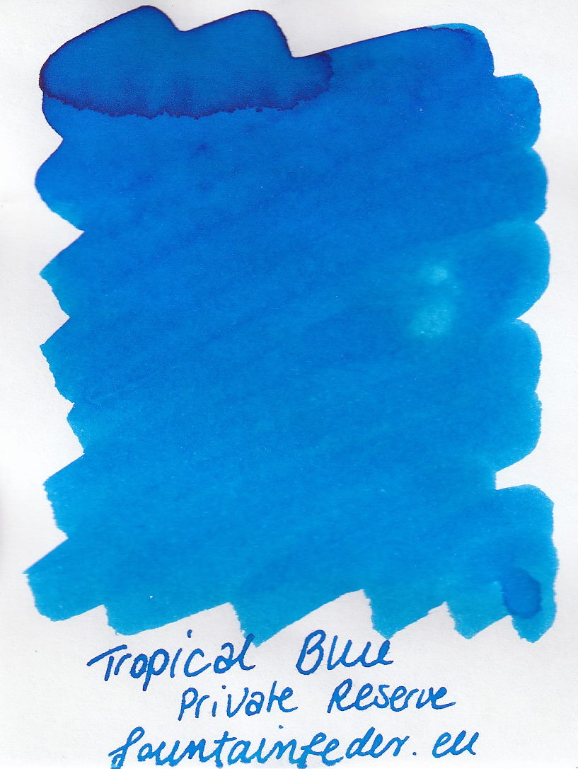 Private Reserve - Tropical Blue Ink Sample 2ml