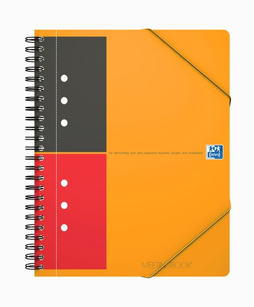Oxford Meetingbook A5+ lined