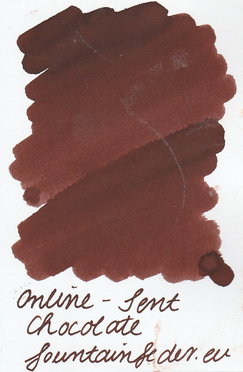Online Scented Chocolate Ink Sample 2m