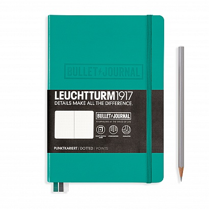 Leuchtturm1917 A5 Hardcover Bullet Journal - Green