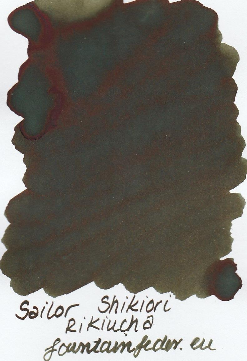 Sailor Shikiori Rikyucha Ink Sample 2ml