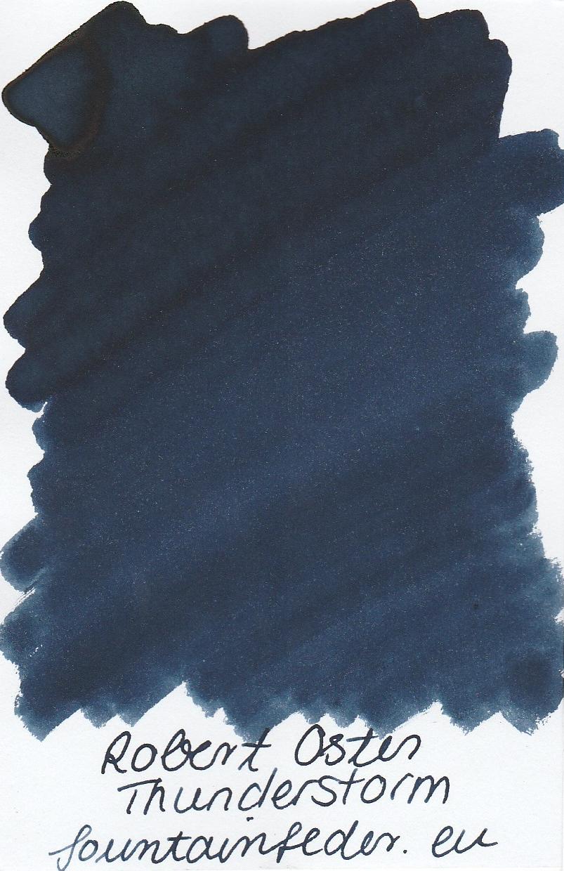 Robert Oster - Thunderstorm Ink Sample 2ml
