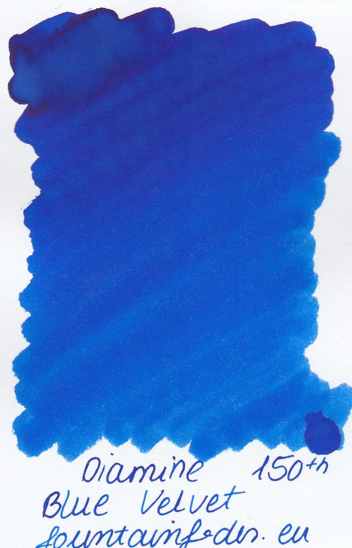 Diamine Blue Velvet Ink Sample 2ml