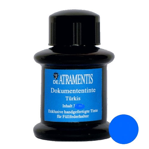 DeAtramentis Document Ink Cyan 45ml