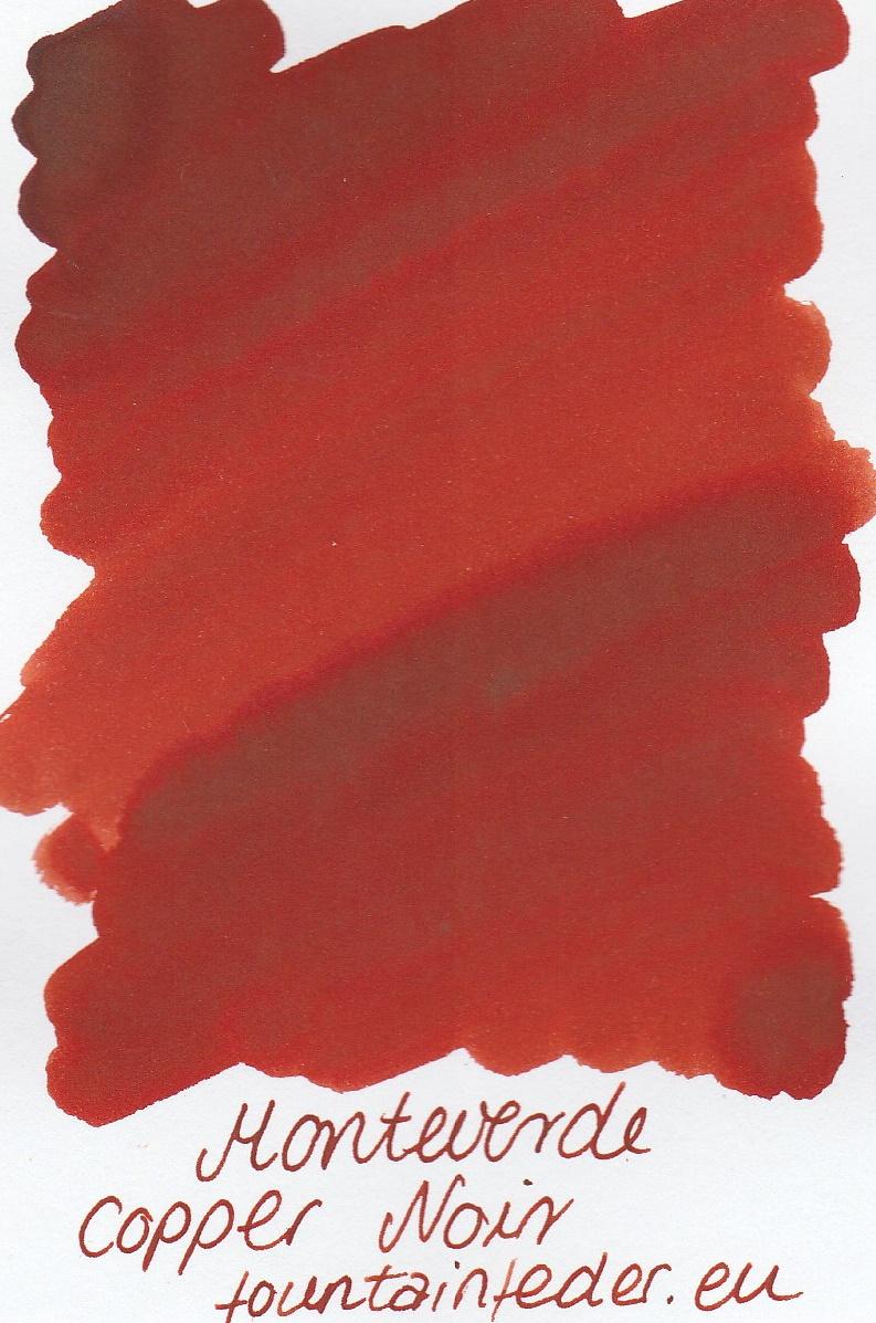 Monteverde Copper Noir Ink Sample 2ml
